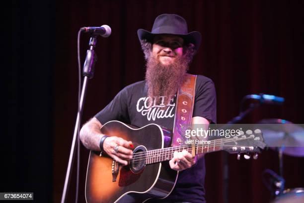 Singer/guitarist Cody Jinks performs at Neighborhood Theatre on April 26, 2017 in Charlotte, North Carolina.