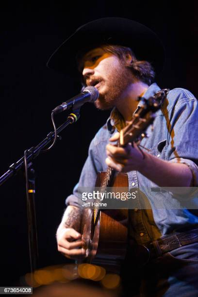 Singer/guitarist Colter Wall performs at Neighborhood Theatre on April 26, 2017 in Charlotte, North Carolina.