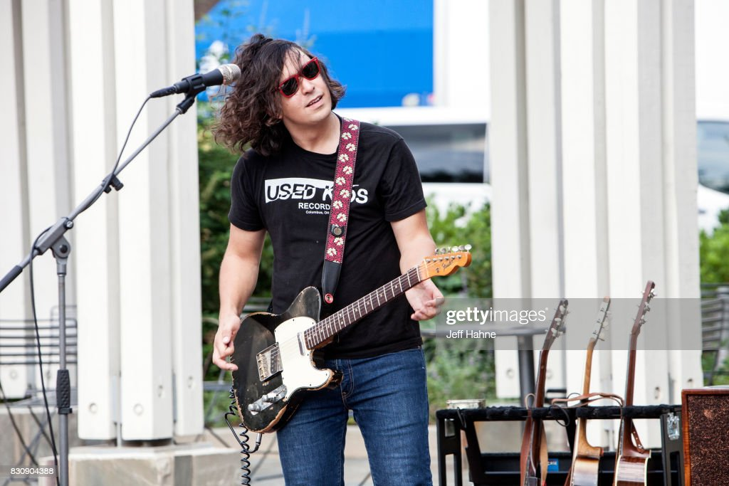 Singer/guitarist Davy Knowles performs at Romare Bearden Park on August 12, 2017 in Charlotte, North Carolina.