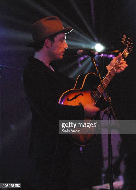 Singer/Guitarist Jakob Dylan performs with The Wallflowers at Highline Ballroom on October 22, 2007 in New York City.