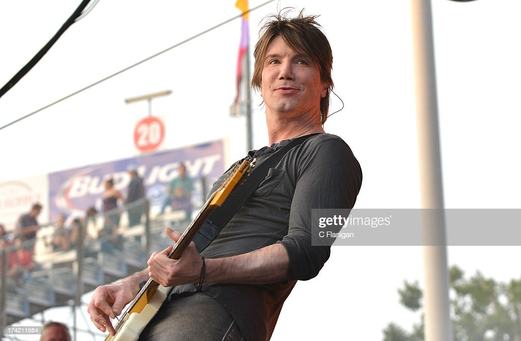 Singer/Guitarist John Rzeznik of The Goo Goo Dolls performs during the California Mid-State Fair on July 21, 2013 in Paso Robles, California.