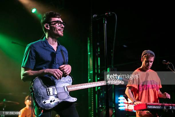 Singerguitarist Matthew Koma of Winnetka Bowling League performs at The Fillmore on December 02 2019 in Charlotte North Carolina
