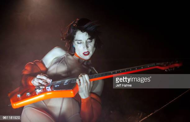 Singer/guitarist St. Vincent performs at The Fillmore Charlotte on May 21, 2018 in Charlotte, North Carolina.