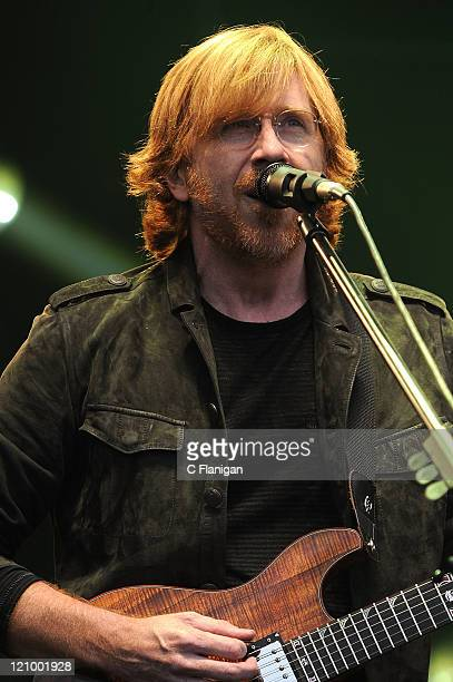 Singer/Guitarist Trey Anastasio of Phish performs during the 2011 Outside Lands Music and Arts Festival at Golden Gate Park on August 12, 2011 in San...
