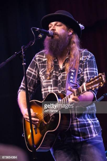 Singer/guitarist Ward Davis performs at Neighborhood Theatre on April 26, 2017 in Charlotte, North Carolina.