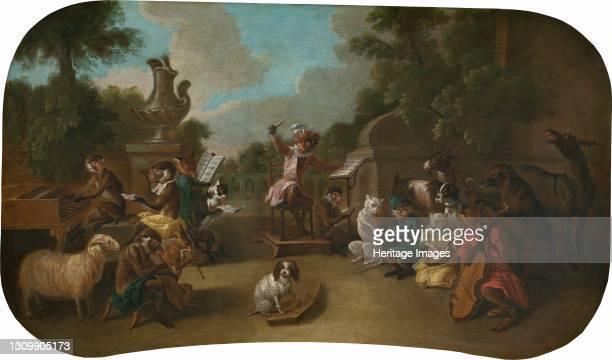 The Concert, circa 1739. Artist Christophe Huet. .