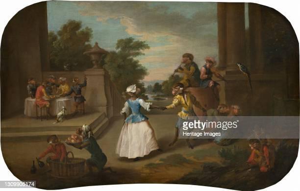 The Dance, circa 1739. Artist Christophe Huet. .