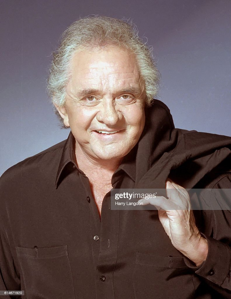 SingerJohnny Cash poses for a portrait in 2001 in Los Angeles, California.