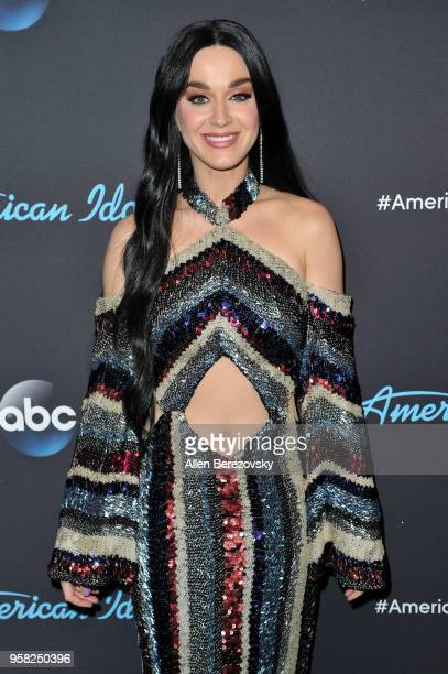 Singer/judge Katy Perry arrives at ABC's 'American Idol' show on May 13 2018 in Los Angeles California
