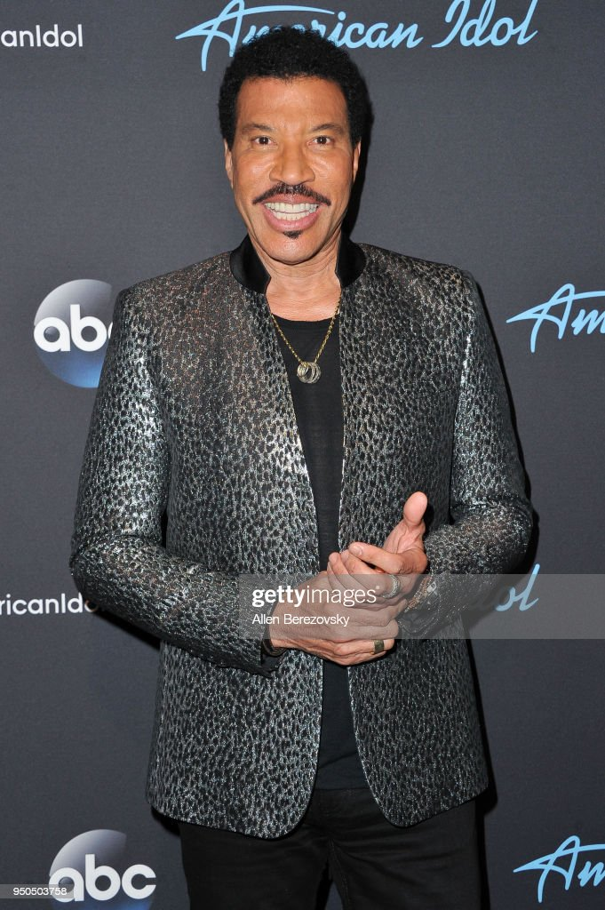 Singer/Judge Lionel Richie arrives at ABC's 'American Idol' show on April 23, 2018 in Los Angeles, California.