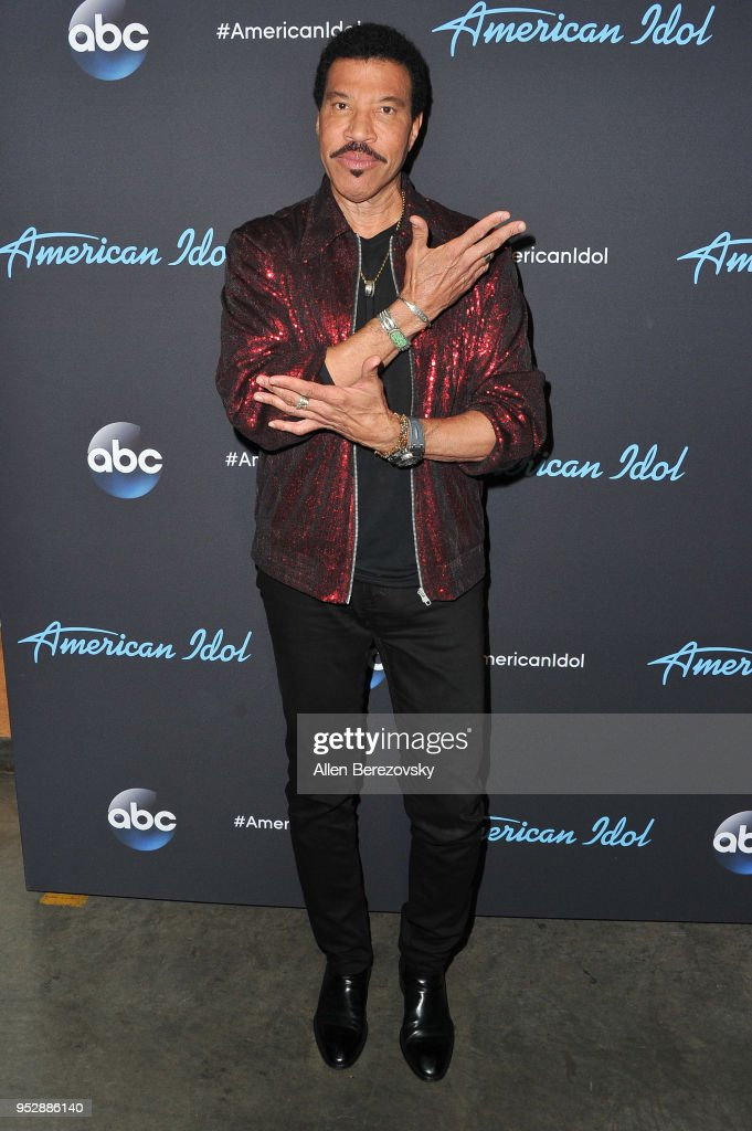 Singer/Judge Lionel Richie arrives at ABC's 'American Idol' show on April 29, 2018 in Los Angeles, California.