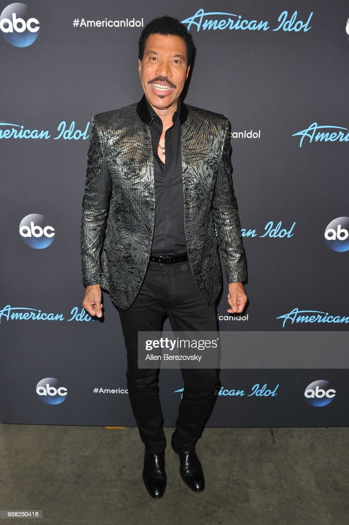 Singer/judge Lionel Richie arrives at ABC's 'American Idol' show on May 13, 2018 in Los Angeles, California.