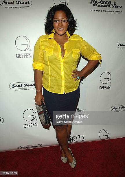 Singer/Model Joanne Borgella attends Solange's 'SoLAngeL and the Hadley St Dreams' Album Release Party and the Launch of Soul Food New York at 49...