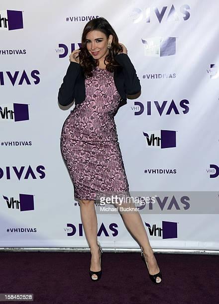 Singer/model Mayra Veronica attends VH1 Divas 2012 at The Shrine Auditorium on December 16 2012 in Los Angeles California