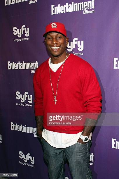 Singer/model/actor Tyrese Gibson attends the Entertainment Weekly and Syfy party celebrating Comic-Con at Hotel Solamar on July 25, 2009 in San...
