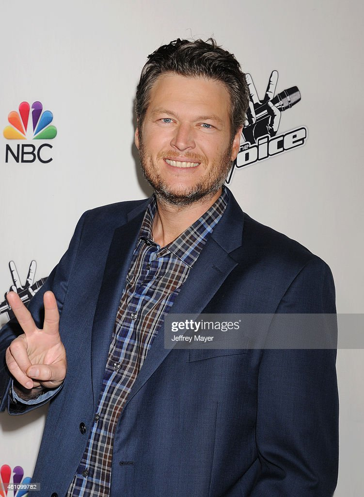 Singer/musician Blake Shelton attends the NBC's 'The Voice' Season 7 Red Carpet Event held at HYDE Sunset: Kitchen + Cocktails on December 8, 2014 in West Hollywood, California.