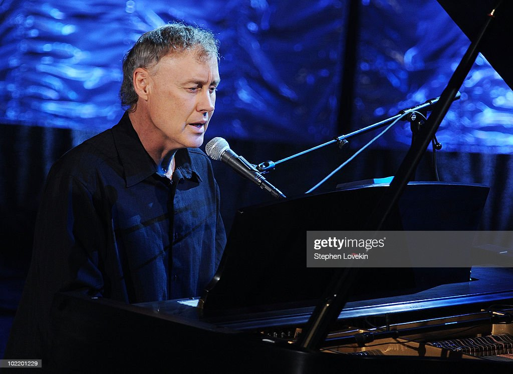 Singer/musician Bruce Hornsby performs at the 41st annual Songwriters Hall of Fame at The New York Marriott Marquis on June 17, 2010 in New York City.
