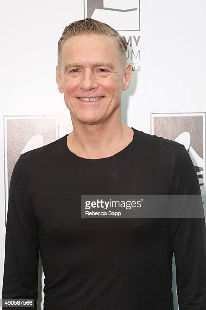 Singer/musician Bryan Adams attends An Evening With Bryan Adams at The GRAMMY Museum on September 28 2015 in Los Angeles California