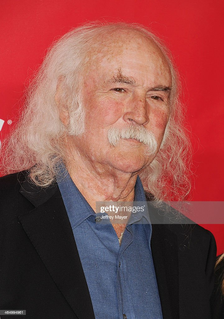 Singer/musician David Crosby attends 2014 MusiCares Person Of The Year Honoring Carole King at Los Angeles Convention Center on January 24, 2014 in Los Angeles, California.
