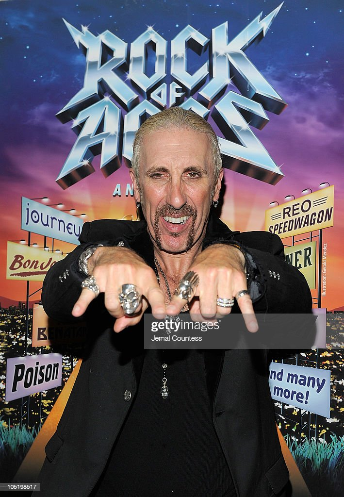 "Dee Snider Makes His Broadway Debut In ""Rock Of Ages"" - After Party"