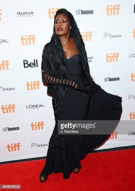 Singer/musician Grace Jones attends the Grace Jones Bloodlight And Bami premiere during the 2017 Toronto International Film Festival at The Elgin on...