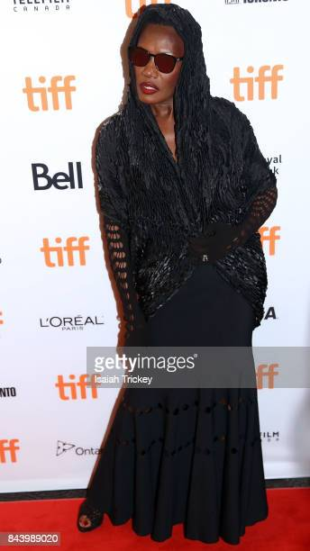 Singer/musician Grace Jones attends the 'Grace Jones Bloodlight And Bami' premiere during the 2017 Toronto International Film Festival at The Elgin...