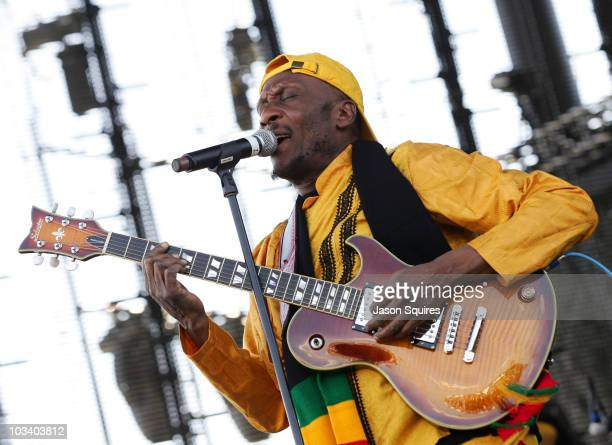 Singer/musician Jimmy Cliff performs at Dick's Sporting Goods Park on August 15, 2010 in Commerce City, Colorado.