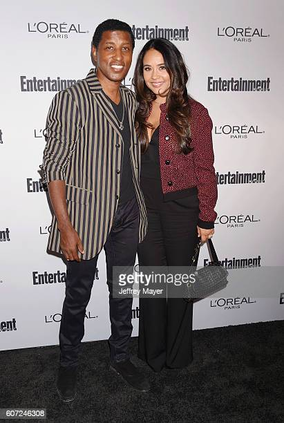 Singer/musician Kenny Babyface Edmonds and wife Nicole Pantenburg attend the Entertainment Weekly's 2016 PreEmmy Party held at Nightingale Plaza on...