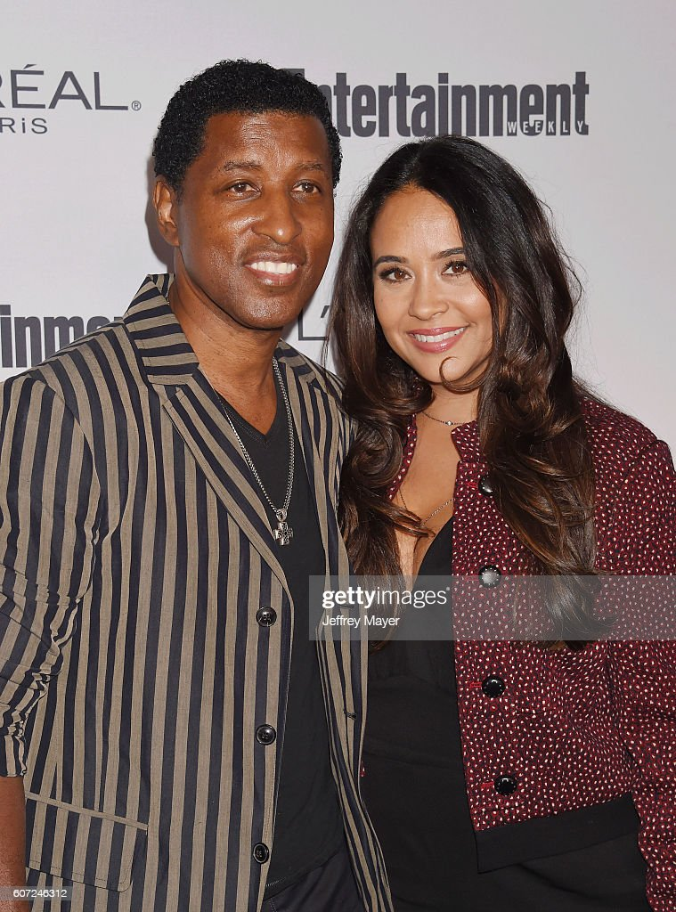 Singer/musician Kenny 'Babyface' Edmonds and wife Nicole Pantenburg attend the Entertainment Weekly's 2016 Pre-Emmy Party held at Nightingale Plaza on September 16, 2016 in Los Angeles, California.