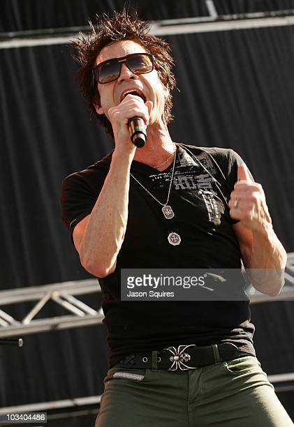 Singer/musician Patrick Monahan of the band Train performs at Dick's Sporting Goods Park on August 15, 2010 in Commerce City, Colorado.