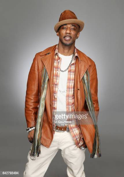 Singer/musician Ralph Tresvant poses for a portrait for BET's 2017 American Black Film Festival Honors Awards at The Beverly Hilton Hotel on February...
