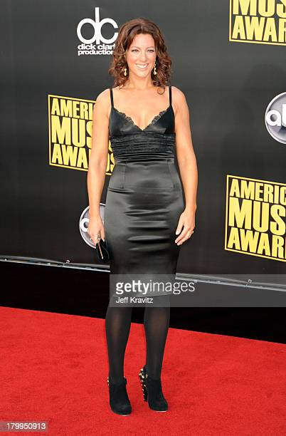 Singer/musician Sarah McLachlan arrives at the 2008 American Music Awards held at Nokia Theatre LA LIVE on November 23 2008 in Los Angeles California