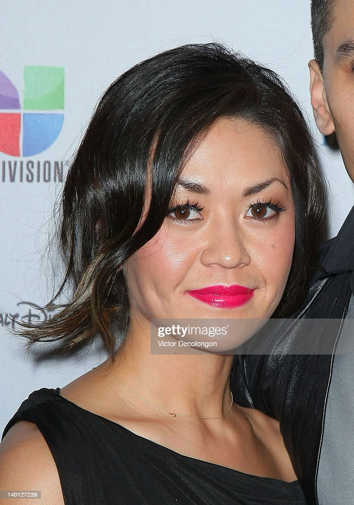 Singer/performer Jaime 'Taboo' Gomez's wife Jaymie Dizon arrives for The National Hispanic Media Coalition's 15th Annual Impact Awards - Arrivals at the Beverly Wilshire Four Seasons Hotel on February 24, 2012 in Beverly Hills, California.