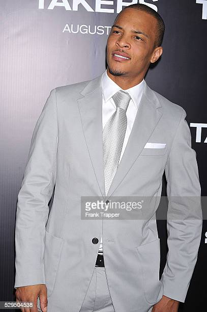 Singer/producer Tip TI Harris arrives at Screen Gems' Takers World Premiere held at the Arclight Cinema Cinerama Dome in Hollywood