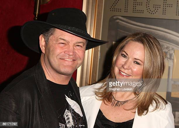 Singer/radio Personality Micky Dolenz and Donna Quinter attend the premiere of Whatever Works during the 2009 Tribeca Film Festival at Ziegfeld on...