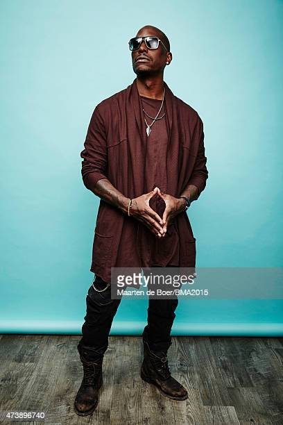 Singer/rapper and actor Tyrese Gibson poses for a portrait at the 2015 Billboard Music Awards on May 17, 2015 in Las Vegas, Nevada.
