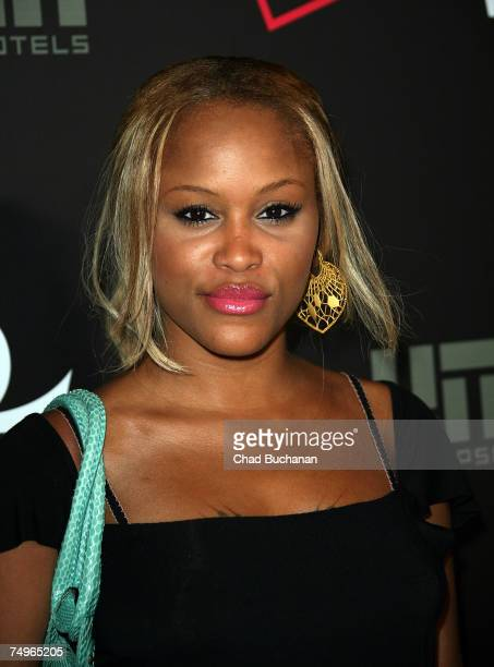 Singer/Rapper Eve attends Prince's '3121' live at The Hollywood Roosevelt Hotel on June 29 2007 in Los Angeles California