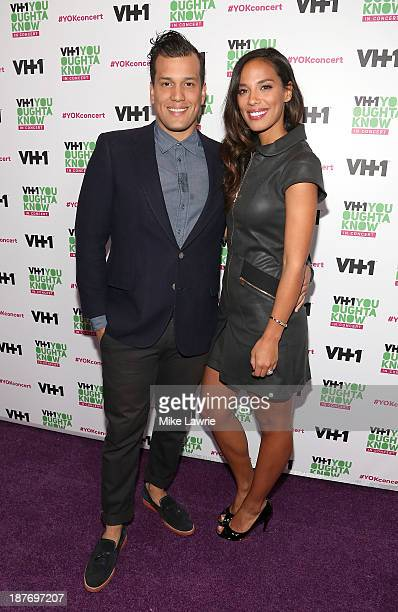Singers Abner Ramirez and Amanda Sudano of Johnnyswim attend VH1 'You Oughta Know In Concert' 2013 on November 11 2013 at Roseland Ballroom in New...