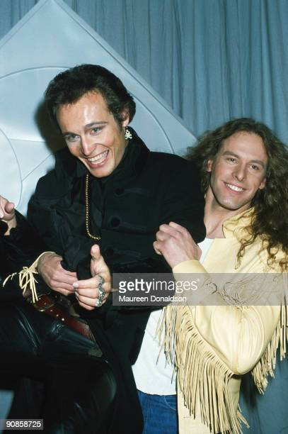 Singers Adam Ant and Ted Nugent present the Best Male Rock Vocal Performance at the Grammy Awards 24th February 1982 Rick Springfield won the award...