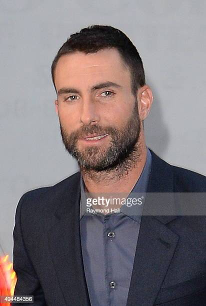 Singers Adam Levine is seen on the 'Today Show' on October 27 2015 in New York City