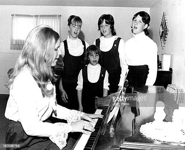 AUG 21 1971 AUG 25 1971 Singers And Cowboys The five singing daughters of AUrora Fireman Lt Bennie Nash and Mrs Nash have gained considerable fame...