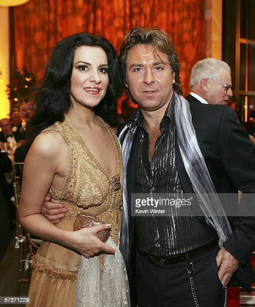 Singers Angela Gheorghiu and her husband Roberto Alagna attend the LA Opera's 20th Anniversary Performance and Gala at the Dorothy Chandler Pavilion...
