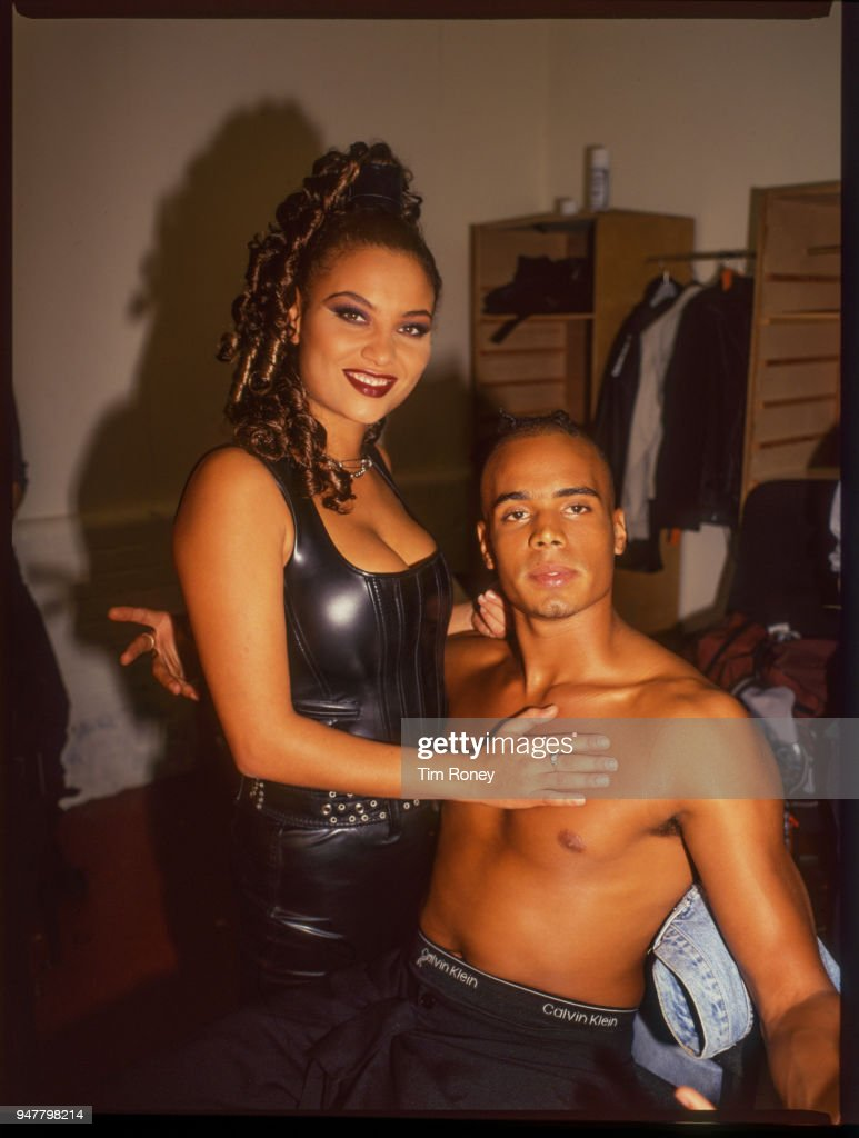Singers Anita Doth and Ray Slijngaard of Dutch eurodance group '2