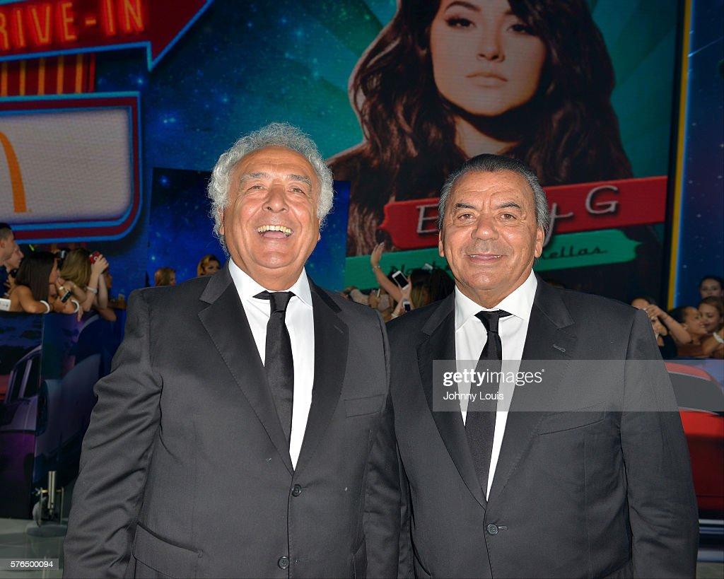 Singers Antonio Romero Monge And Rafael Ruiz Of Los Del Rio Arrive