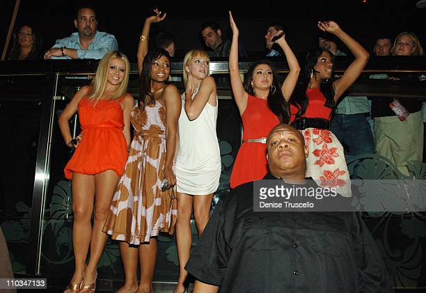 Singers Aubrey O'Day D Woods Shannon Bex Aundrea Fimbres and Dawn Richard of Danity Kane at their official album release party at The Bank Nightclub...