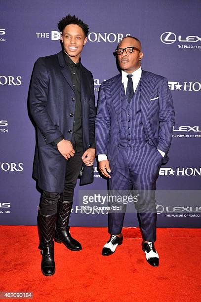 Singers Avery Wilson and Sean Garrett attend The BET Honors 2015 at Warner Theatre on January 24 2015 in Washington DC