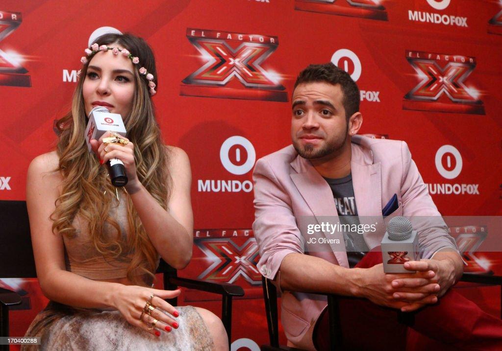 "MundoFOX Presents ""El Factor X"" Premiere And Press Conference : News Photo"