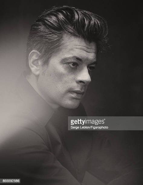 Singers Benjamin Biolay is photographed for Madame Figaro on July 23 2017 in Paris France Shirt CREDIT MUST READ Serge Leblon/Figarophoto/Contour by...