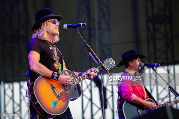 Singers Big Kenny and John Rich of Big and Rich perform at Watershed Festival at Gorge Amphitheatre on August 4 2018 in George Washington