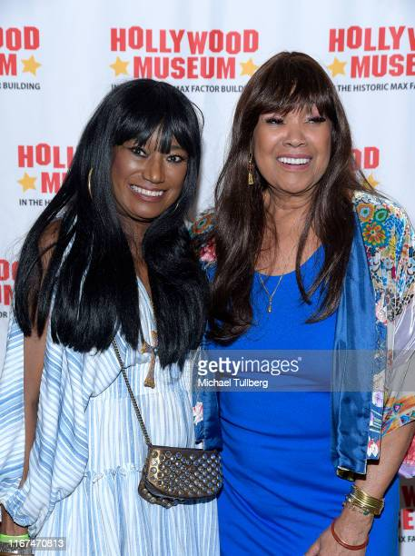 Singers Bonnie Pointer and Anita Pointer attend a screening and QA for the documentary The Max Factor at The Hollywood Museum on August 11 2019 in...